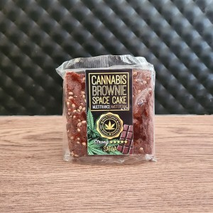 Brownie Cannabis Space Cake Strong Sativa